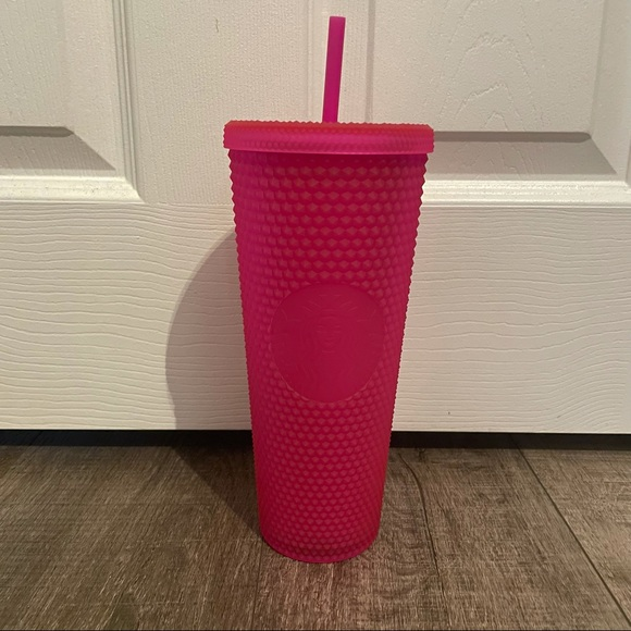 Starbucks Soft Touch Jelly Pink Venti Tumbler Cold Cup